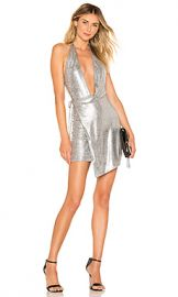 h ours Omari Dress in Silver from Revolve com at Revolve