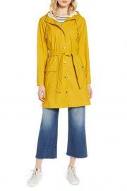 halogen Waterproof Hooded Rain Jacket at Nordstrom Rack