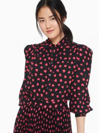 heartbeat blouse at Kate Spade