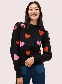 hearts mockneck sweater at Kate Spade