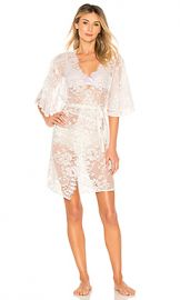 homebodii Kassiah Robe in Lace from Revolve com at Revolve