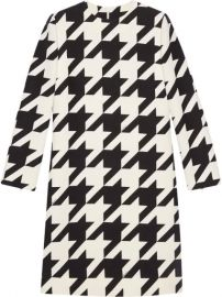 houndstooth-print dress at Farfetch