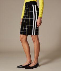 https://www.karenmillen.com/us/womens/clothing/knitwear/checked-pencil-skirt/020206.html at Karen Millen