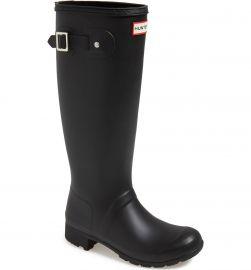 hunter Tour Packable Waterproof Rain Boot at Nordstrom