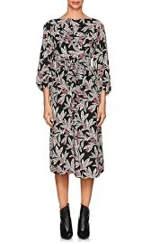 isabel marant Lisa Floral Crepe Midi-Dress at Barneys