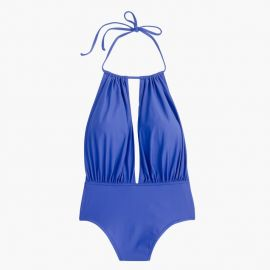 j crew Halter keyhole one-piece swimsuit at J.Crew