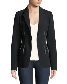 jason wu COMPACT CREPE BLAZER JACKET at Bergdorf Goodman
