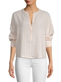 joie Bekette Linen Blouse at Saks Off 5th