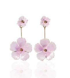 julia earrings at Jennifer Behr