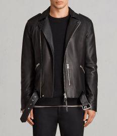 kaho leather biker jacket at All Saints