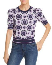kate spade new york Geo Floral Sweater Women - Bloomingdale s at Bloomingdales