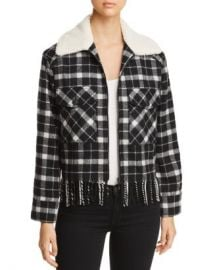 kate spade new york Rustic Plaid Jacket Women - Bloomingdale s at Bloomingdales