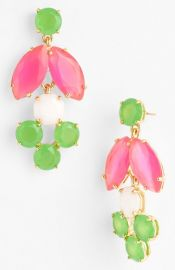 kate spade new york and39marqueeand39 chandelier earrings at Nordstrom