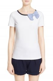 kate spade new york bow tee at Nordstrom