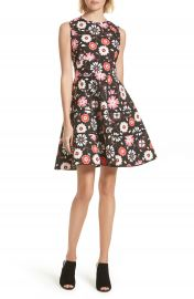 kate spade new york casa flora fit  amp  flare dress   Nordstrom at Nordstrom