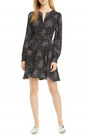 kate spade new york confetti cheer long sleeve fit  amp  flare dress   Nordstrom at Nordstrom