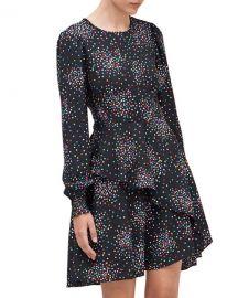 kate spade new york confetti pop smocked dress at Neiman Marcus