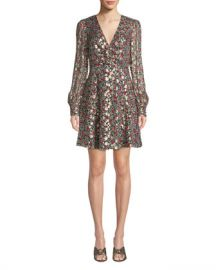 kate spade new york floral park v-neck dress at Neiman Marcus