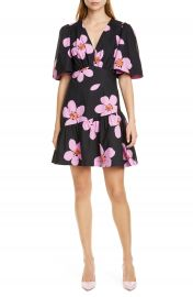 kate spade new york grand flora cotton dress   Nordstrom at Nordstrom