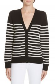 kate spade new york heart patch stripe cardigan   Nordstrom at Nordstrom