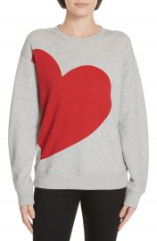 kate spade new york heart sweatshirt   Nordstrom at Nordstrom