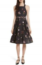kate spade new york in bloom fit   flare dress at Nordstrom