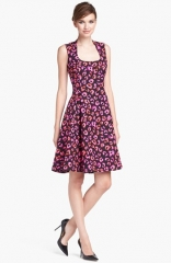 kate spade new york kimi cotton andamp silk a-line dress at Nordstrom
