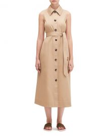 kate spade new york sleeveless belted shirtdress at Neiman Marcus