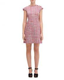 kate spade new york textured tweed dress at Neiman Marcus