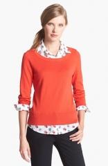 kate spade new york yardley layered sweater at Nordstrom
