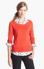 kate spade new york yardley layered sweater at Nordstrom