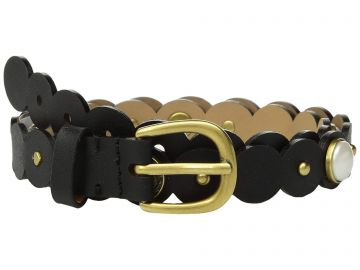 kate spade pearl scalloped belt at Zappos Luxury