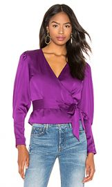 keepsake Infinity Long Sleeve Top in Grape from Revolve com at Revolve