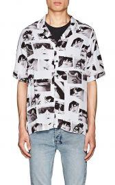ksubi Sedation Eyes Twill Shirt at Barneys