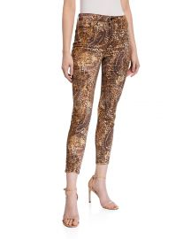 lagence Margot Valencia High-Rise Skinny Ankle Jeans at Neiman Marcus