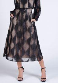 lahive MARA Midi Skirt at Lahive