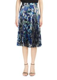 lamé pleated skirt by Christopher Kane at Farfetch