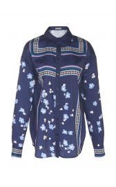 lela rose printed shirt at Moda Operandi