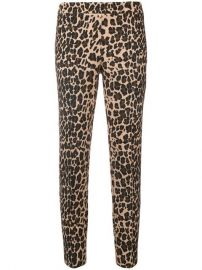 leopard print trousers at Farfetch