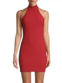 likely Presley Halter Mini Dress at Saks Fifth Avenue