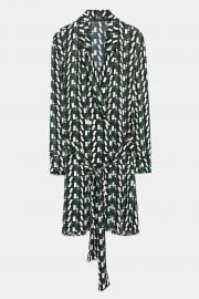 logo print dress at Zara