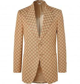 logo print jacket gucci at Mr Porter