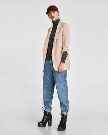 long blazer at Zara