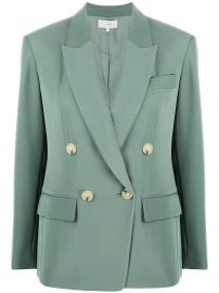 long sleeve double breasted blazer at Farfetch