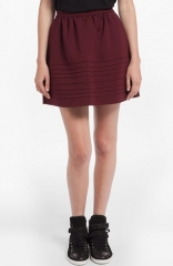 maje Dressage Piped Full Skirt at Nordstrom