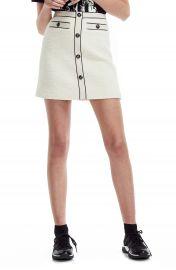 maje Joppy Cotton Tweed Miniskirt   Nordstrom at Nordstrom