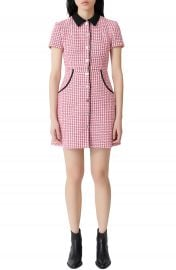 maje Renatya Tweed Minidress   Nordstrom at Nordstrom