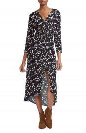 maje Rosila Floral Print Midi Dress   Nordstrom at Nordstrom