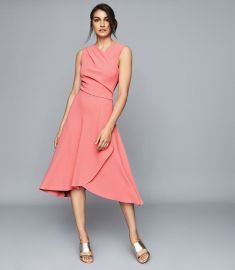 marling dress at Reiss