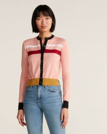 marni COLORBLOCK CARDIGAN SWEATER at Century 21